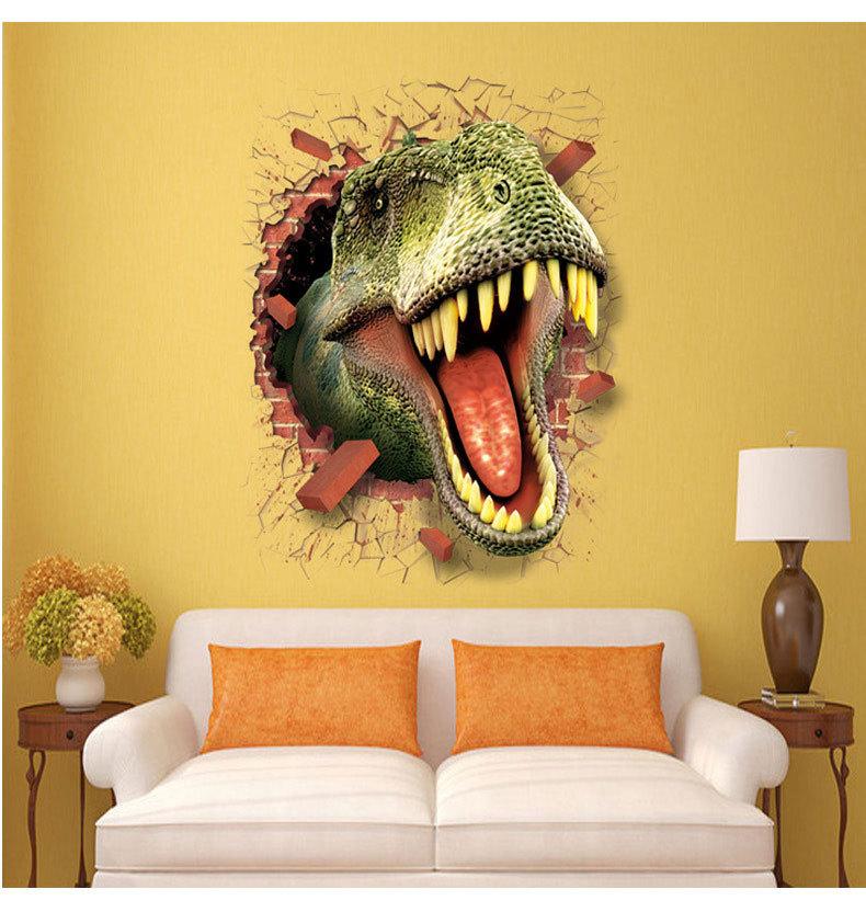 wandtattoos kinderzimmer wandsticker dinosaurier. Black Bedroom Furniture Sets. Home Design Ideas