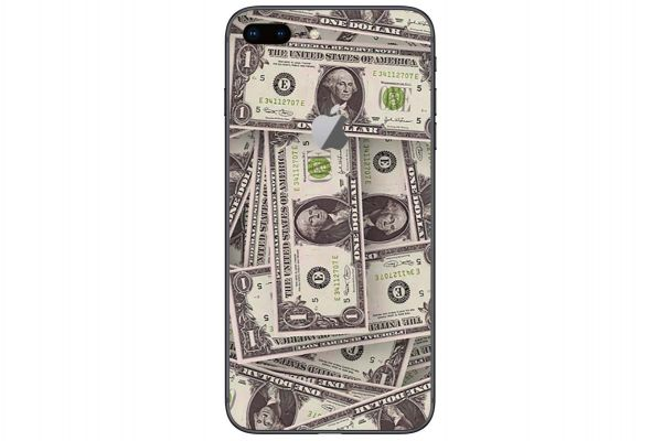 Apple iPhone 7 Aufkleber Designfolie - cash