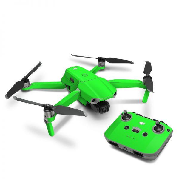 DJI Mavic Air 2 Skin Aufkleber Schutzfolie Drohnen Skins Vinyl Folie fluoreszierend neon grün