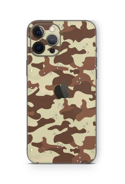 iPhone 12 mini Skin Schutzfolie Design Wrapping Desert Camo