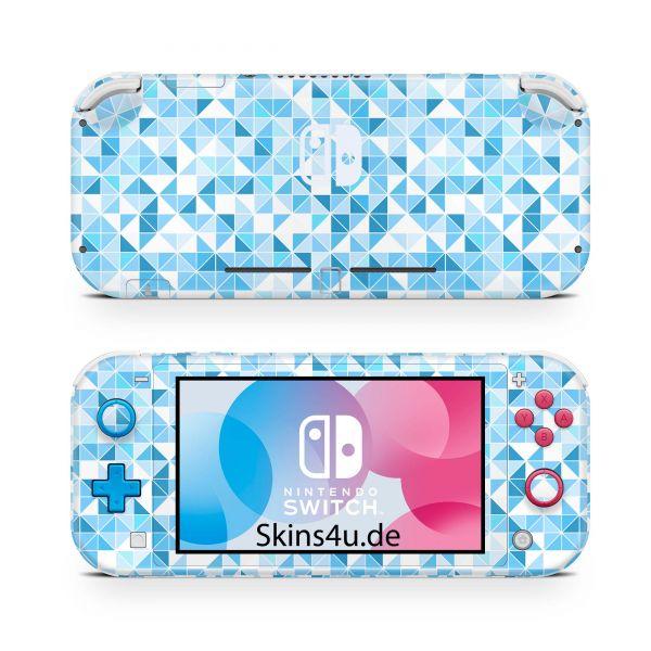 Nintendo Switch Lite Front & Back Skin Aufkleber Schutzfolie Polygon prw8