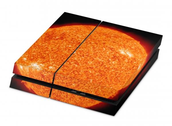 Playstation 4 Skin Designfolie Sticker Set PS4 Motiv - Big Red