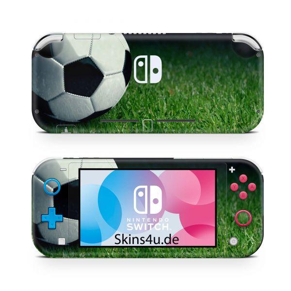 Nintendo Switch Lite Front & Back Skin Aufkleber Schutzfolie Soccer