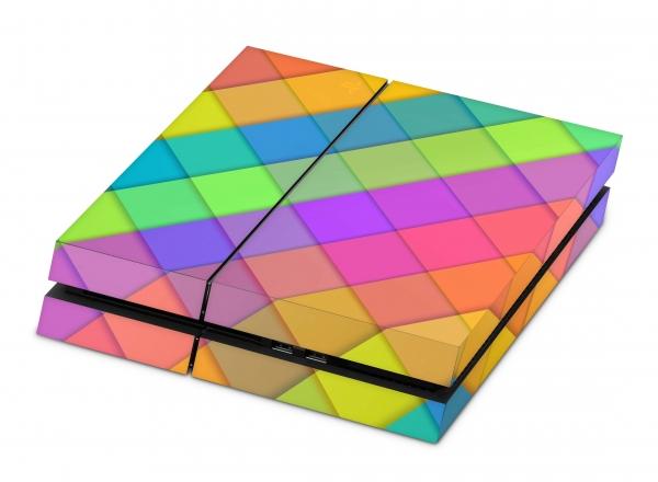 Sony Playstation 4 Aufkleber Skin Set PS4 Designfolie - Sam