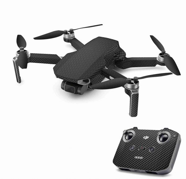DJI Mavic Mini 2 Skin Aufkleber Wraps Skins Design Folie Carbon