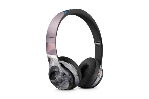 Beats Solo 2 Wireless Skin Design Aufkleber Schutzfolie Liberty Crash