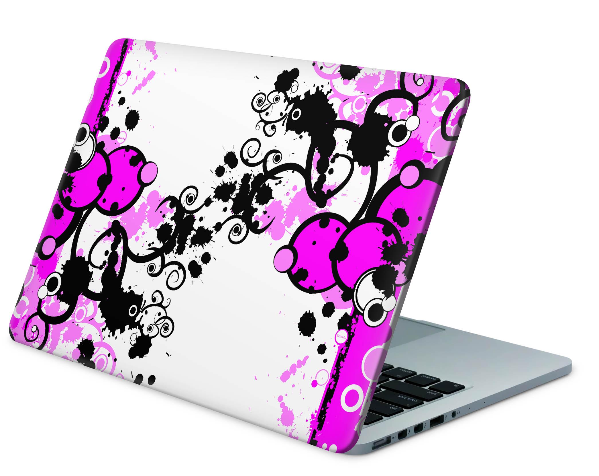 Notebook Designfolie