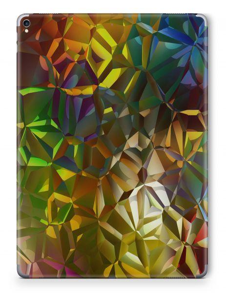 Apple iPad 6 (2018) Skin Aufkleber Schutzfolie Design broken light