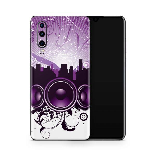 Huawei P20 Skin Design Handy Schutzfolie Cover City