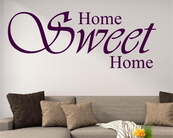 Wandtattoo Home sweet Home - SZ005