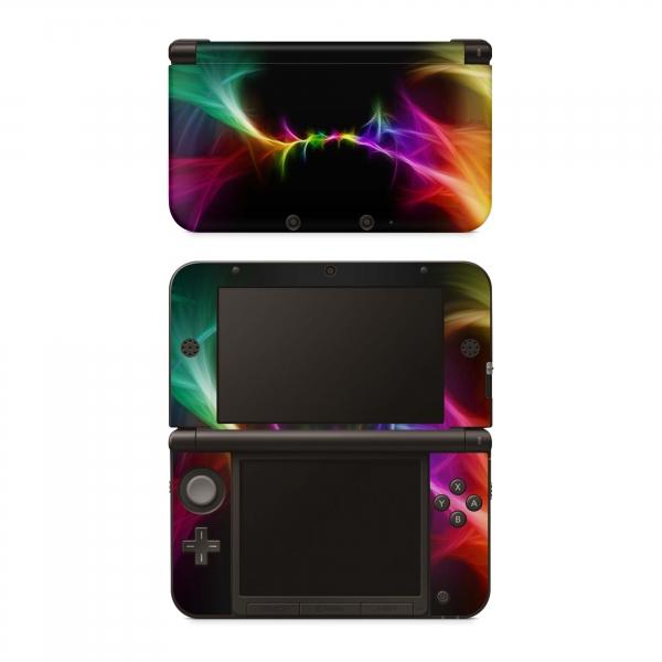 Nintendo 3DS XL Skin Aufkleber Design Schutzfolie Colors