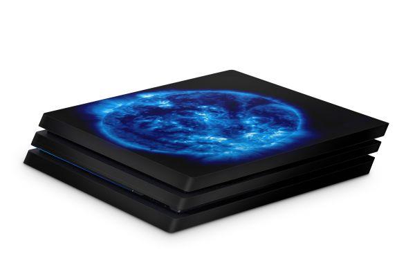 Playstation 4 Pro Skin Aufkleber PS4 Design Blue Giant