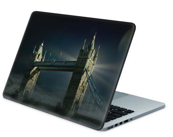 MacBook Pro 13 Modell A1708 Skin Aufkleber Decal Cover Tower-Bridge