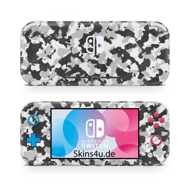 Nintendo Switch Lite Front & Back Skin Aufkleber Schutzfolie Urban Camo new