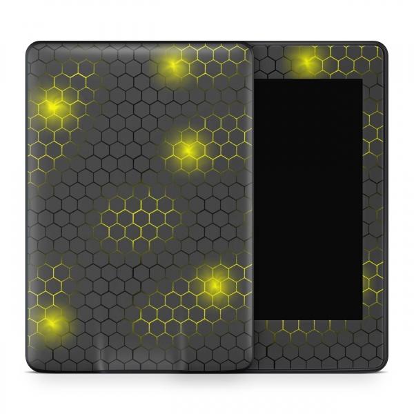 Amazon Kindle Voyage Skin Aufkleber Design Schutzfolie Exo small yellow