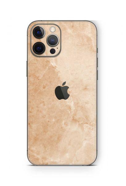 iPhone 12 mini Skin Schutzfolie Design Wrapping Marmor gold