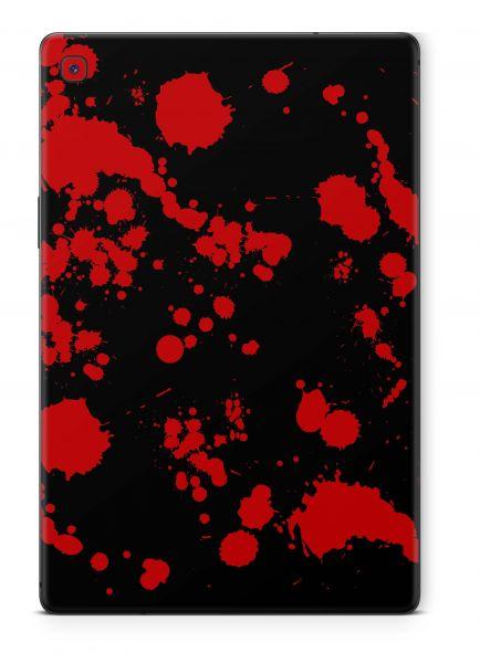 Samsung Galaxy Tab S6 Skin Design Schutzfolie Cover Aufkleber Blood Black