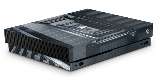 Xbox One X Schutzfolie Skin Aufkleber Design - Too High