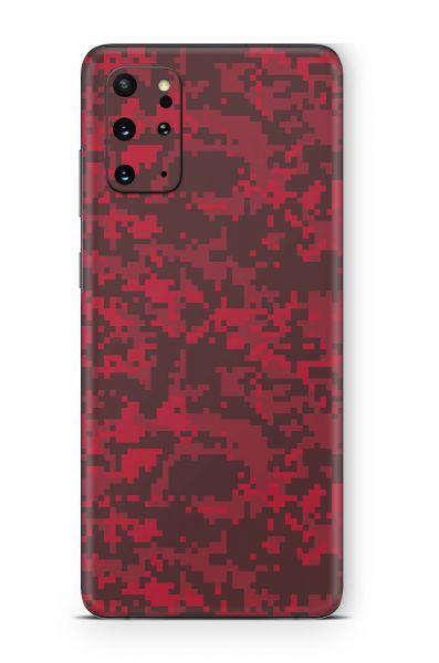 Samsung Galaxy A72 Skin Aufkleber Design Schutzfolie digital blood camo