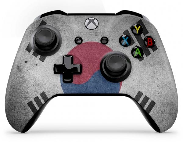 Xbox One Controller Skin Aufkleber Design Folie - Südkorea