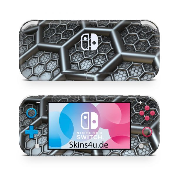Nintendo Switch Lite Front & Back Skin Aufkleber Schutzfolie Wasp