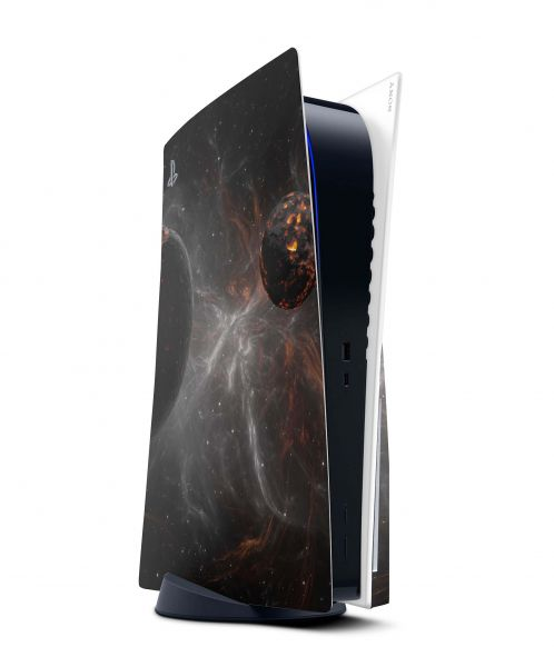 Playstation 5 PS5 Skin Design Vinyl Konsolen Faceplate Aufkleber Astronomy